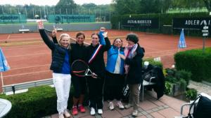Französische Tennisdamen in Bad Soden